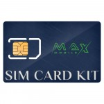 MAX MOBILE SIM Card Kit